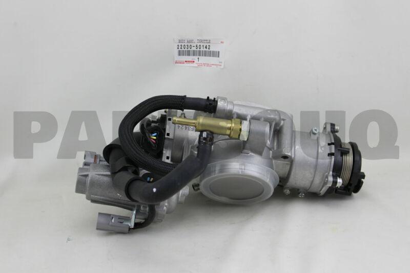 2203050142 Genuine Toyota Body Assy, Throttle W/motor 22030-50142