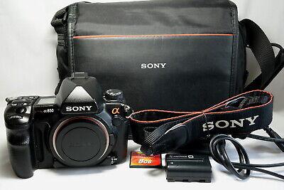 Sony A850 24.6MP full frame Digital SLR Camera - 8927 shutter count