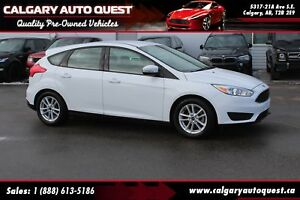 2016 Ford Focus SE HATCHBACK/MUST SEE/EASY FINANCING AVAILABLE