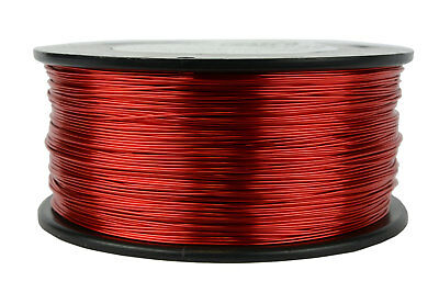 Temco Magnet Wire 22 Awg Gauge Enameled Copper 1.5lb 155c 751ft Coil Winding