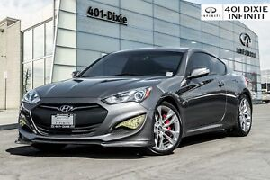 2013 Hyundai Genesis Coupe LOW KMS! No Accidents! Leather! Navi!