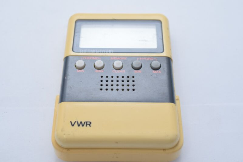 SCIENTIFIC TRACEABLE DIGITAL VWR THERMO HYGRO THERMOMETER HYGROMETER METER