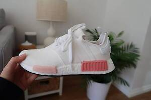 Adidas NMD r1 Boost Ice Pink & White (UK 6 | AU 8 | EU 39) Iluka Joondalup Area Preview