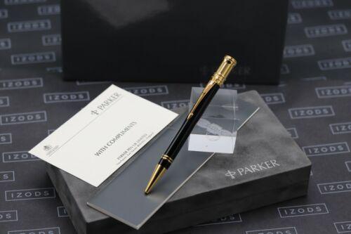 Parker Duofold Black Gold Ballpoint Pen - 1990 MK1
