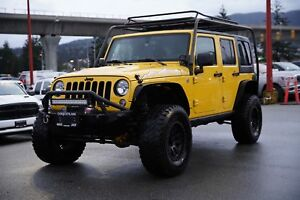2015 Jeep Wrangler Unlimited Sahara - NAVI, CUSTOM WHEELS!