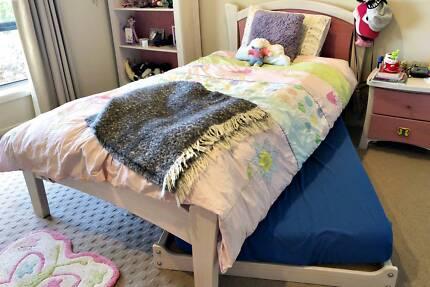 Girls King Single +Trundle Bedroom Complete Suite