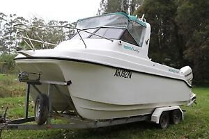 Noosa Cat 1850 Cuddy 5.5m Fishing Boat Port Macquarie City Preview