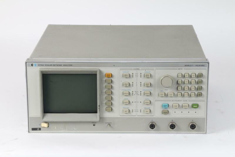 Agilent / HP 8756A Scalar Network Analyzer / Two Independent Display Channels