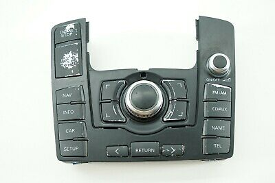 AUDI Q7 07 08 09 4L - Center Console Audio Radio Mmi Control Unit 4L0919610B