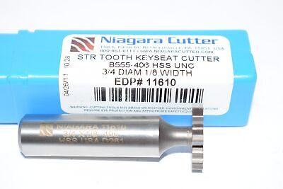 New Niagara Cutter N11610 34 X 18 Keyseat Cutter