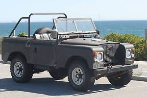Licenced 1972 Land Rover Series 2A SWB Scarborough Stirling Area Preview