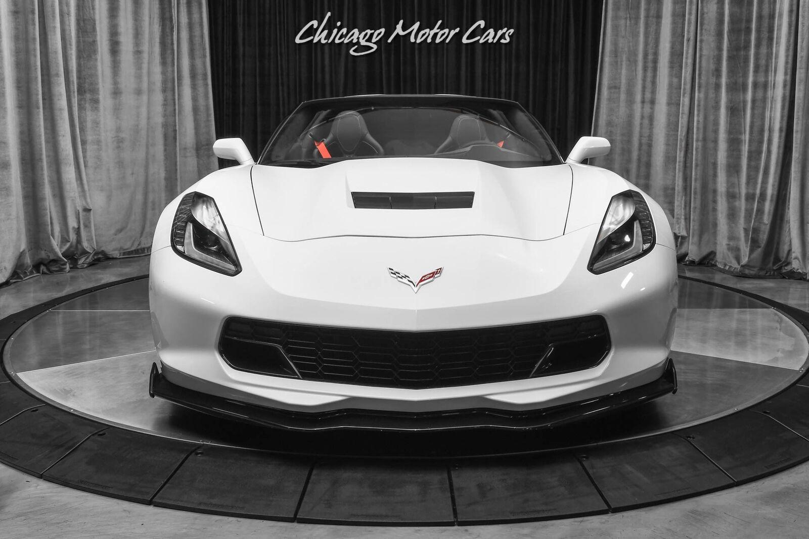 2016 White Chevrolet Corvette Stingray    C7 Corvette Photo 7