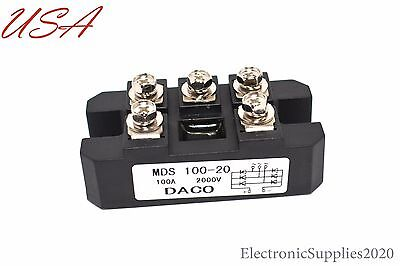 Daco Mds100a 2000v 100 Amp 2000 Volts Rectifier Diode Bridge Usa Seller