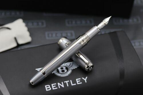 Tibaldi Bentley GT Silver Tempest Fountain Pen 1