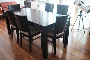 7 pieces dining set