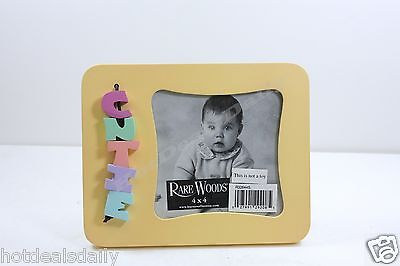Wooden Photo Blocks (EARLY YEARS WOOD PHOTO FRAME WITH CUTIE WOODEN BLOCKS 4