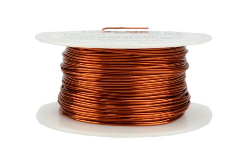 TEMCo Magnet Wire 19 AWG Gauge Enameled Copper 200C 8oz 125ft Coil Winding