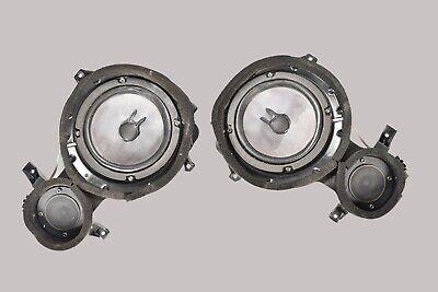 96-02 Mercedes R129 SL320 SL500 Vorne Rechts Und Links Tür Panel Lautsprecherset