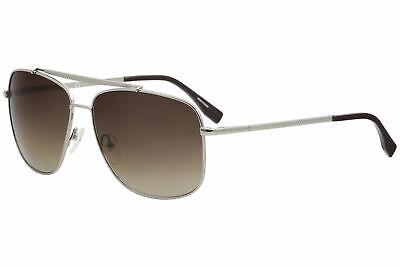 Lacoste Men's L188S L/188/S 035 Light Gunmetal Fashion Pilot Sunglasses - Lacoste Fashion Sunglasses