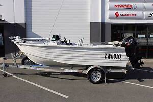 2014 Polycraft 4.50 Drifter Side Console+ Suzuki 60hp Four Stroke Boondall Brisbane North East Preview