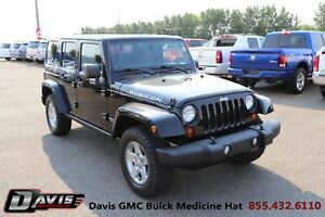 2012 Jeep Wrangler Unlimited Rubicon Heated seats! Leather! N...