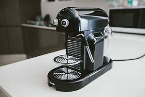Nespresso Maestria Black Breville Manual Coffee Machine Marrickville Marrickville Area Preview