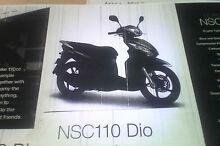 2013 Honda NSC110 DIO scooter Prospect Launceston Area Preview