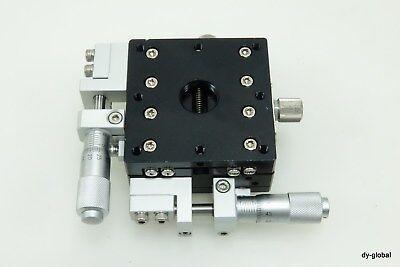 Nnb Manual Xy Axis Precision Positioner Mmt-m2-637-l1-hc 60x60x30 Sta-i-2065f31