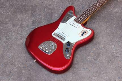 2002 Fender Japan JG66-85 Jaguar Electric Guitar Candy Apple Red