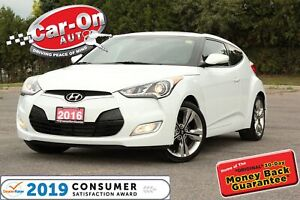 2016 Hyundai Veloster Tech ONLY 6,800 KM LEATHER NAV PANO ROOF L