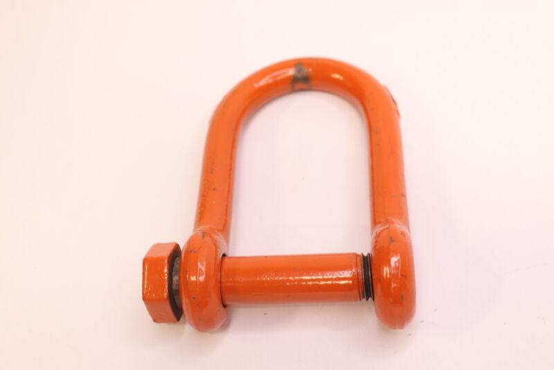 "CM Screw Pin Long Reach Shackle 3.5 Ton Powder Coated Orange 5/8"" 305-M7151P"