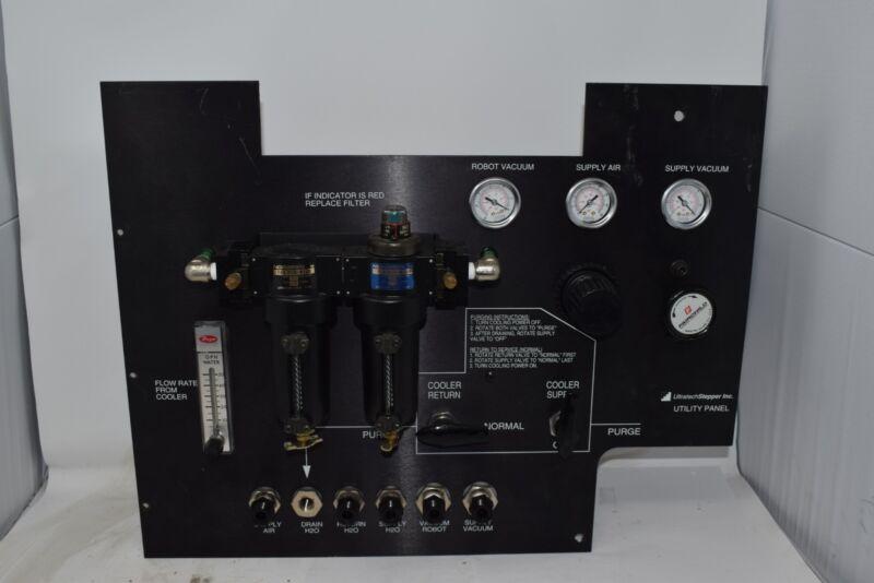 Ultratech Stepper Utility Panel Photolithography Norgren Filter, Fairchild 1600