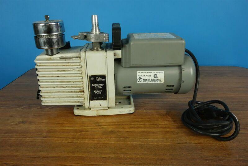 Fisher Maxima C Plus Model M4C Rotary Vacuum Pump