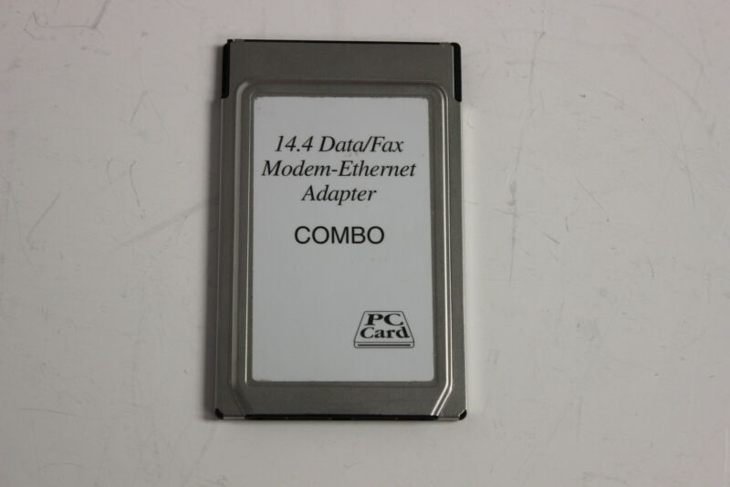 IBM 13H7365 PCMCIA 14.4 DATA/FAX MODEM-ETHERNET ADAPTER COMBO