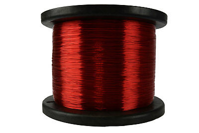 Temco Magnet Wire 26 Awg Gauge Enameled Copper 7.5lb 155c 9435ft Coil Winding