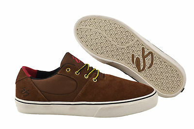 Es Skateboard-schuhe (eS Accel SQ brown tan Sneaker Schuhe braun)
