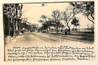 24649 PC Postcard China Shanghai The Bund 1902 AK Der Damm