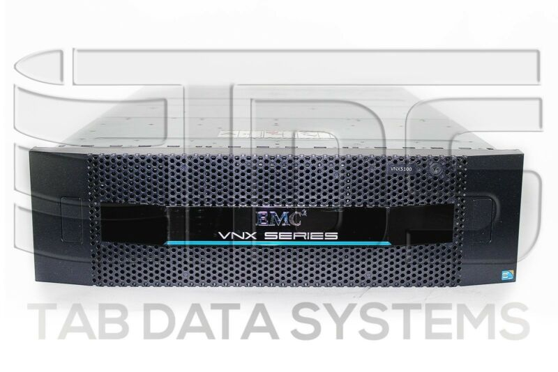 "Emc Vnx5100 Block Storage System W/ 4x 005049273 300gb 15k Rpm 3.5"" Sas Hdd"