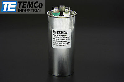 NEW Supco Oval Single Motor Capacitor 5 uf MFD 370 VAC Volt CR5X370
