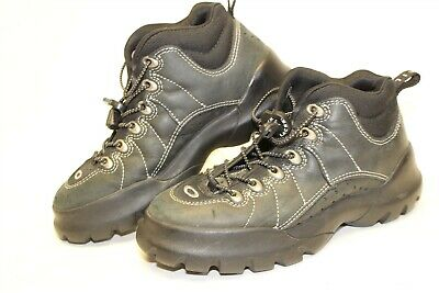 Oakley Womens Size 6.5 37.5 Leather Mid Lace Up Hiking Boots (Womens Oakley Boots)