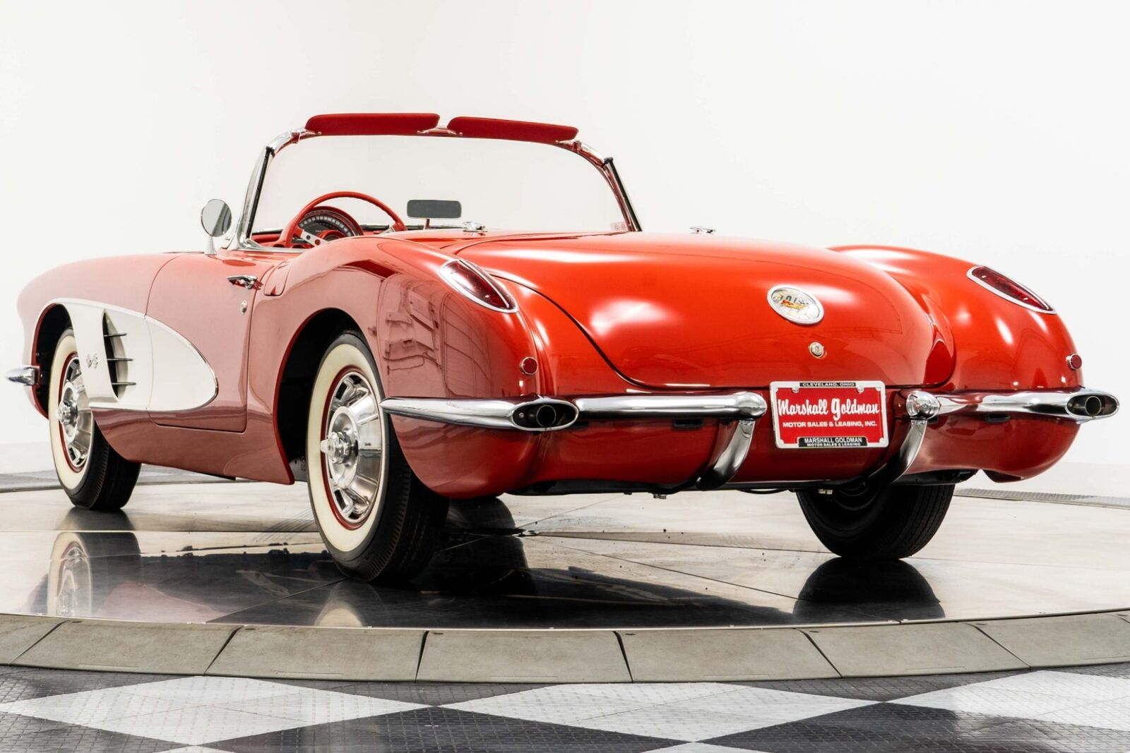 1960 Red Chevrolet Corvette   | C1 Corvette Photo 6