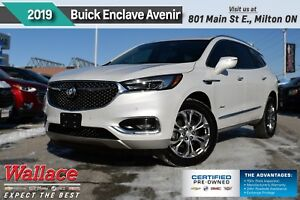 2019 Buick Enclave Avenir/DEMO/LOADED!/AWD/DUAL MNRF/HTD&CLD LTH