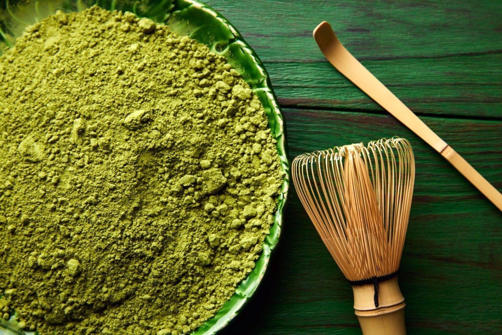 Matcha Tee Pulver - Grüner Matcha Tea grün green Powder