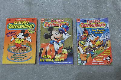 LTB 3x Lustiges Taschenbuch - 131, 245, 252 - zum Thema Mickys Geburtstag