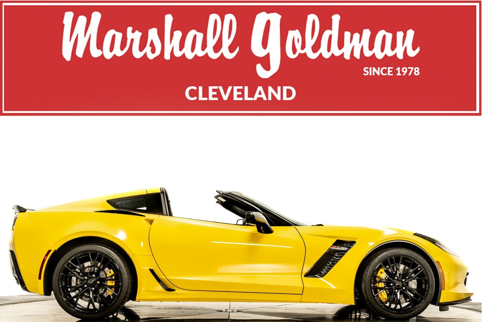 2016 Yellow Chevrolet Corvette Z06  | C7 Corvette Photo 1