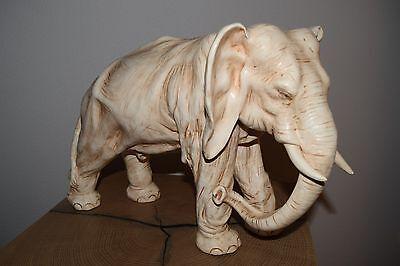 * Alter großer sehr schöner weißer Elefant - Marolin - TOP ca.1920 (544-16) *
