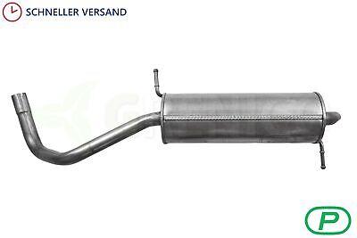 komplette auspuffanlage auspuff VW Polo 1.4 16V 9N/_ 1999//10-2009//11