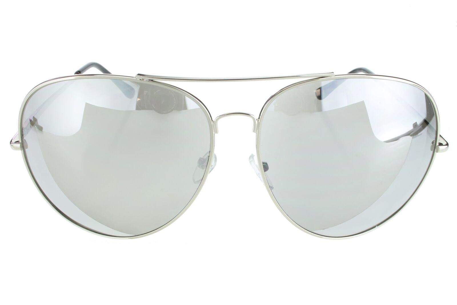 3 PAIR Oversize Extra Large PILOT Sunglasses Silver Frame Mirror Lenses XXL r