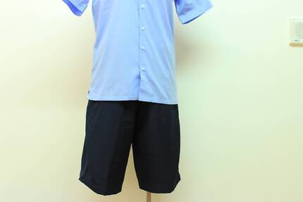 Navy Shorts various sizes from size 10 to 24 (190items)