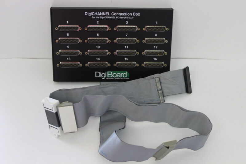 DIGI 70000652 DIGICHANNEL CONNECTION BOX FOR PC/16E WITH WARRANTY